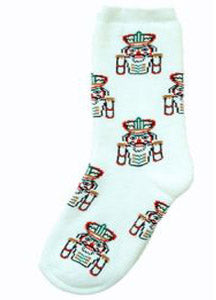 Multicolor Nutcracker All Over Heavy Weight Sock - Nutcracker Ballet Gifts