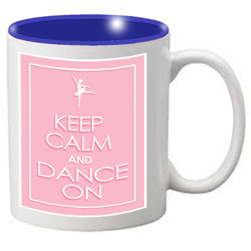 Nutcracker Ballet Mug  KCREC01  Keep Calm Pink Rectangle - Nutcracker Ballet Gifts