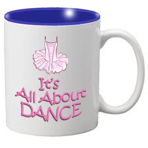 Nutcracker Ballet Mug MGDANC02 It's All About Dance - Nutcracker Ballet Gifts
