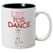 Nutcracker Ballet Mug MGDANC07 Live for Dance - Nutcracker Ballet Gifts