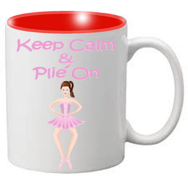 Nutcracker Ballet Mug  MGKC04 Keep Calm Plie 04 - Nutcracker Ballet Gifts
