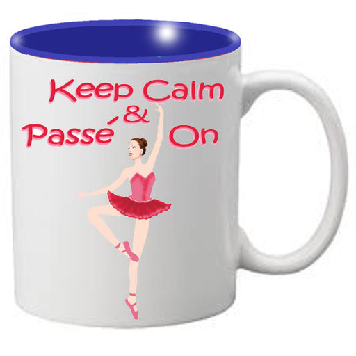 Nutcracker Ballet Mug  MGKC05 Keep Calm Passe 05 - Nutcracker Ballet Gifts