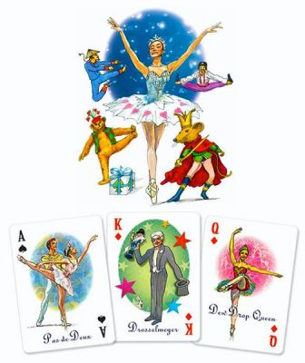 The Nutcracker Characters Playing Card Deck - Nutcracker Ballet Gifts