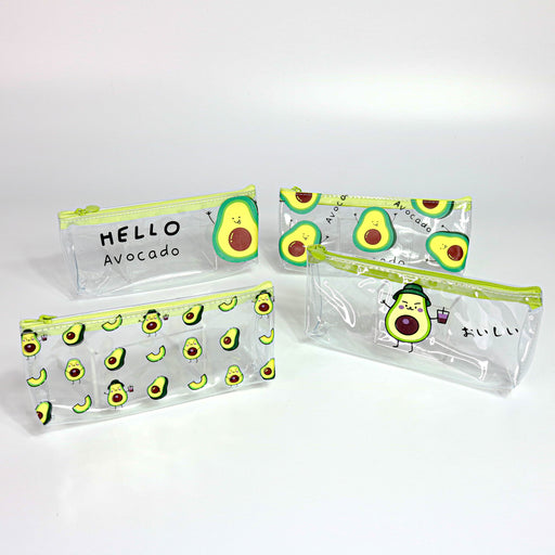 Avocado See Through Pencil Case Set of 4 - Nutcracker Ballet Gifts