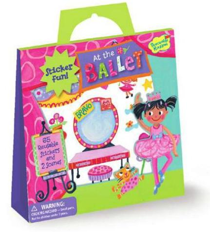 At the Ballet Sticker Tote - Nutcracker Ballet Gifts