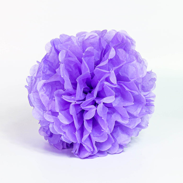 Tissue Pom-Pom 12 Inch Light Purple 4 pack - Nutcracker Ballet Gifts