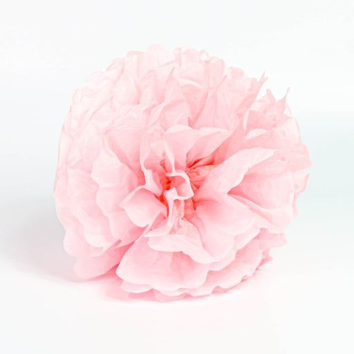 Tissue Pom-Pom 12 Inch Rose 4 pack - Nutcracker Ballet Gifts