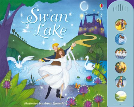 Swan Lake with Musical Sounds Book - Nutcracker Ballet Gifts