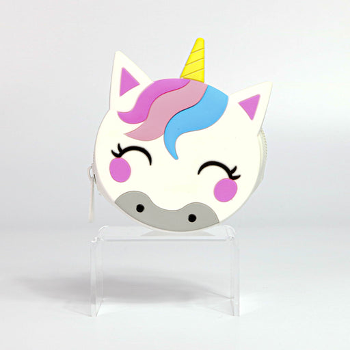 White Unicorn Silicone Coin Purse - Nutcracker Ballet Gifts
