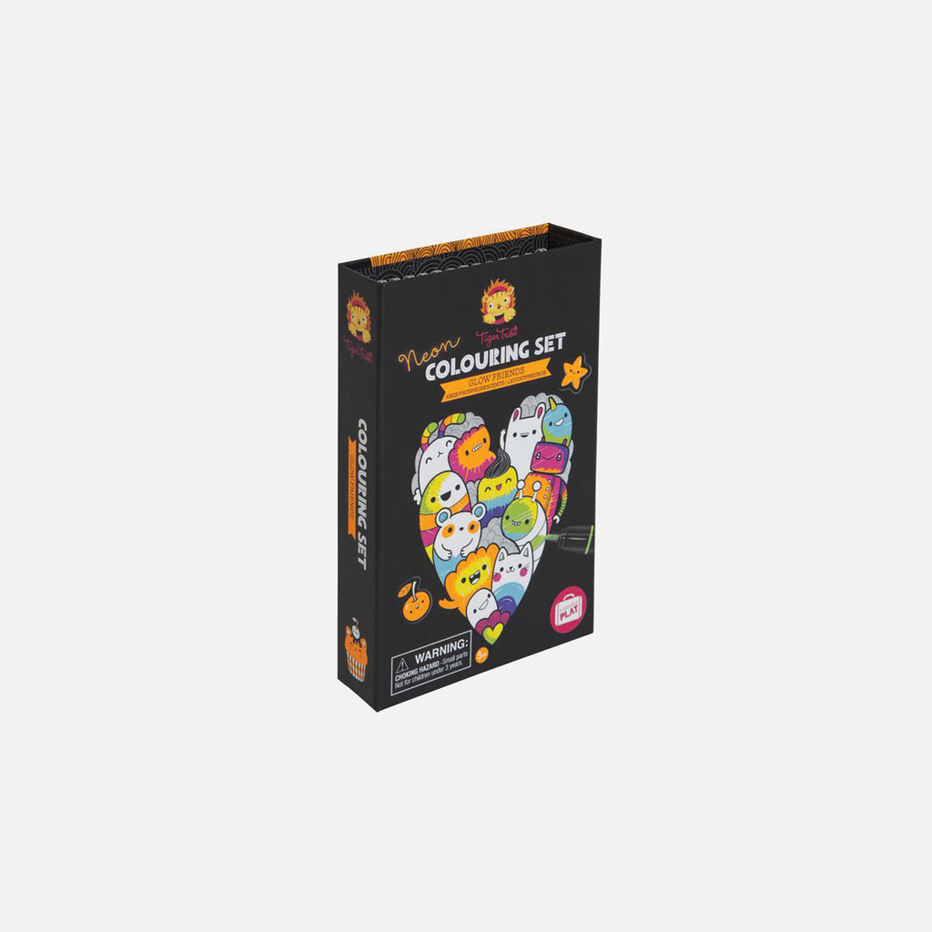 Colouring Set - Glow Friends - DutchHideout