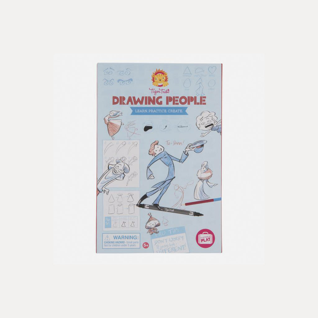 Drawing People - Learn Practice Create - DutchHideout