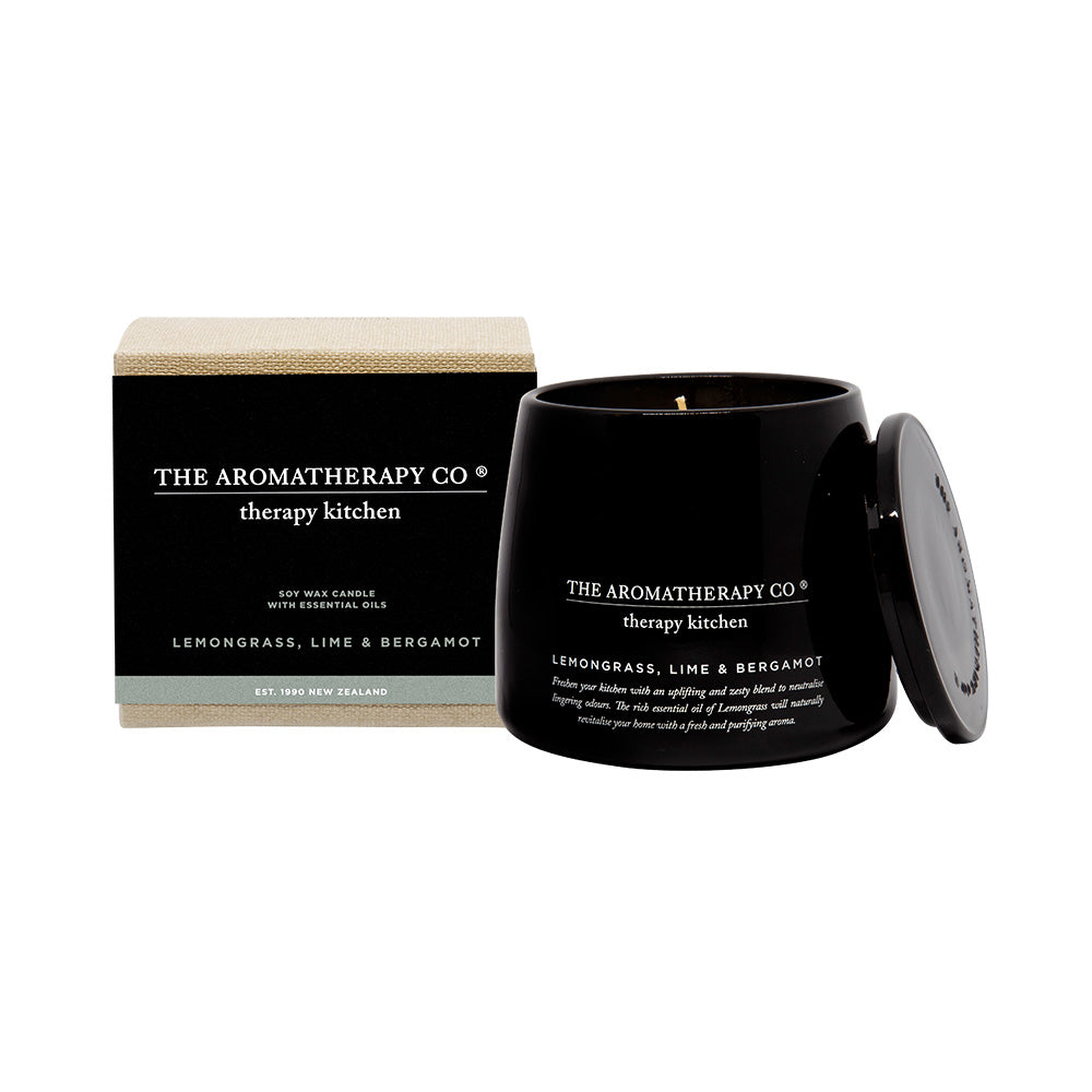 Lemongrass, Lime & Bergamont Candle - DutchHideout