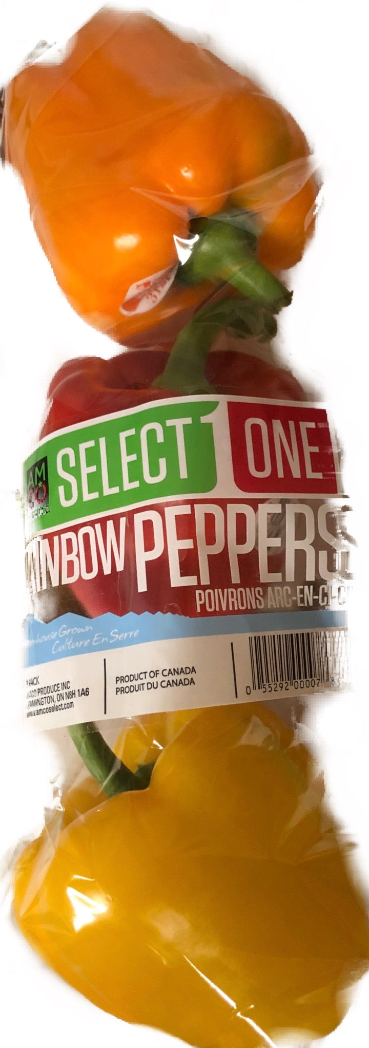 Peppers 3 Count - Orange, Red, Yellow