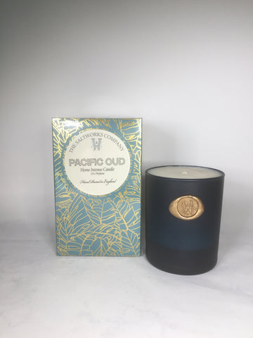 The Saltworks Company Pacific Oud Candle