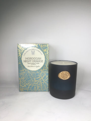 The Saltworks Company Moroccan Night Orange Candle