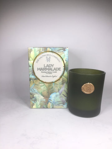 The Saltworks Company Cocoa Ambretta Luxury Fragrance Candle