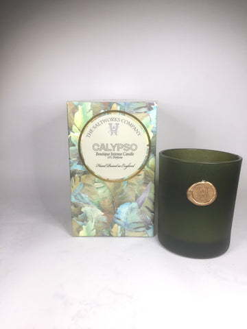 The Saltworks Company Calypso Floral Boutique Intense Candle