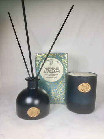 The Saltworks Company Papyrus & Vellum Luxury Reed Diffuser
