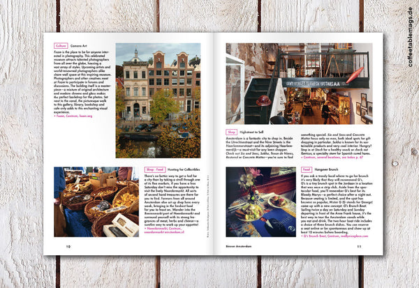 LOST iN Travel Guide – Issue 03 – Amsterdam – Inside 01
