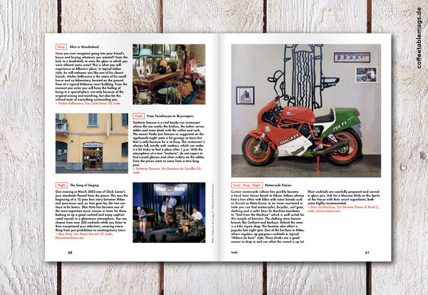 38HOURS Travel Guide – Issue 06 – Milan – Inside 04