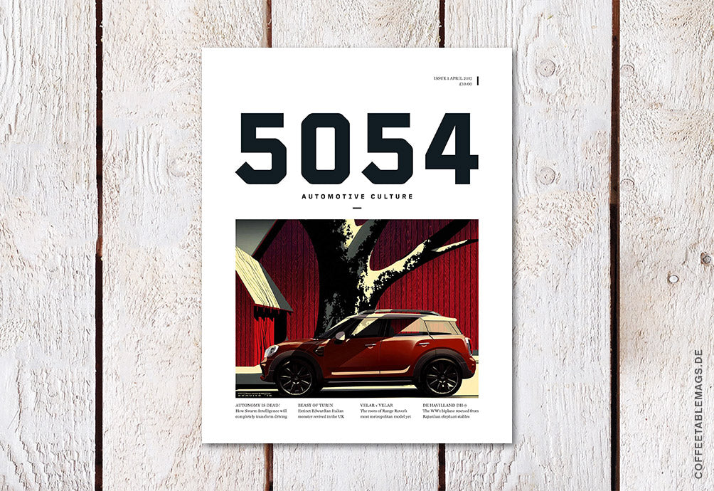 5054 Automotive Magazine – Issue 01 – Cover