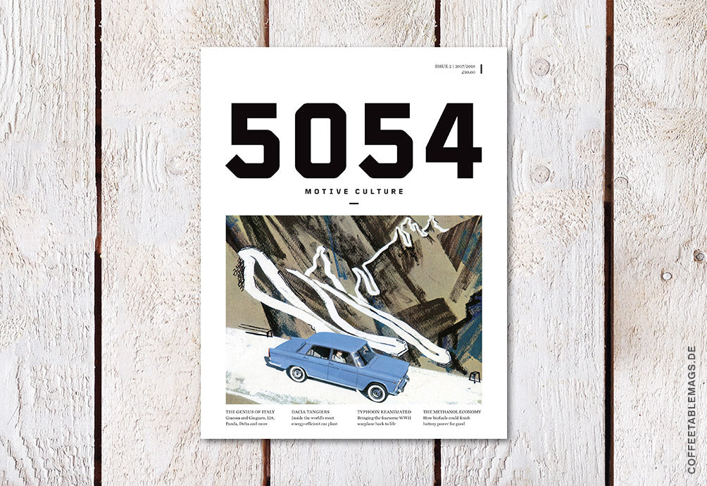 Coffee Table Mags / Independent Magazines / 5054 Automotive Magazine – Issue 02 – Cover