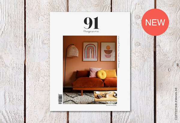 91 Magazine – Volume 09 – Cover