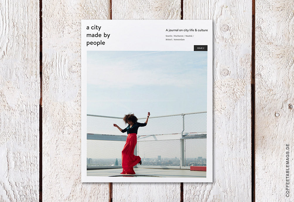 A City Made By People Journal – Issue 02 – Cover