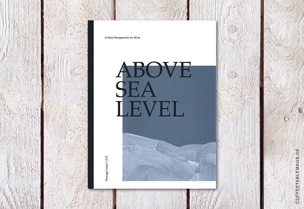 Above Sea Level – Issue 02: The Portugal Issue – Cover