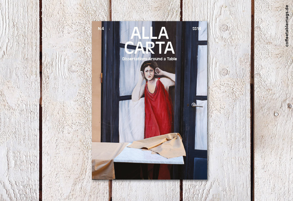 Alla Carta – Number 4 – Cover