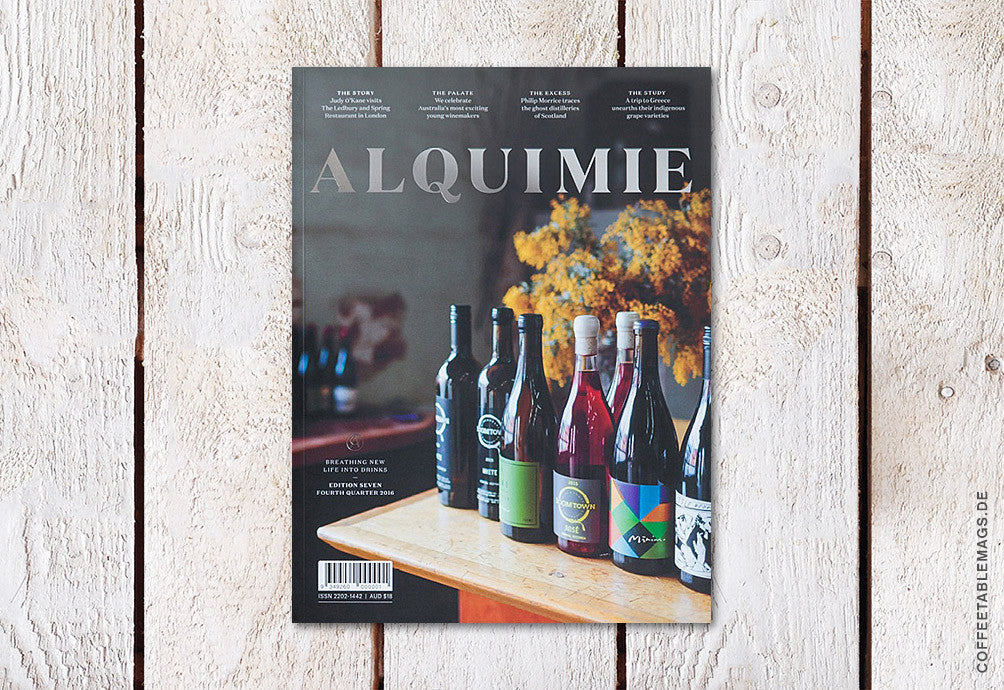 Alquimie – Edition Seven – Cover