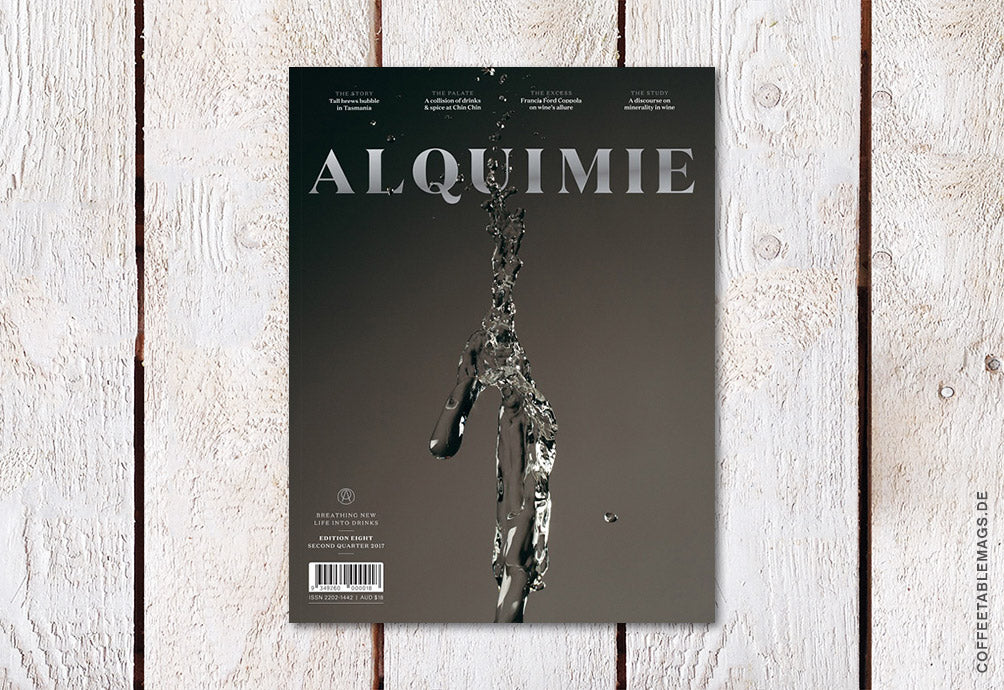 Alquimie – Edition Eight – Cover