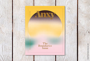 Coffee Table Mags // Independent Magazines // Anxy Magazine – Issue 3: The Boundaries Issue – Cover