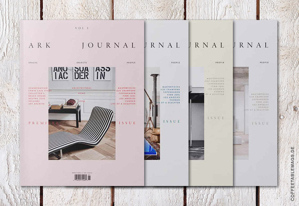 Coffee Table Mags / Independent Magazines / Ark Journal – Volume 01 (SS19) – Cover