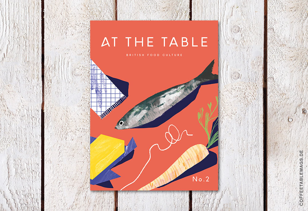 At The Table (British Food Culture) – Number 02 – Cover