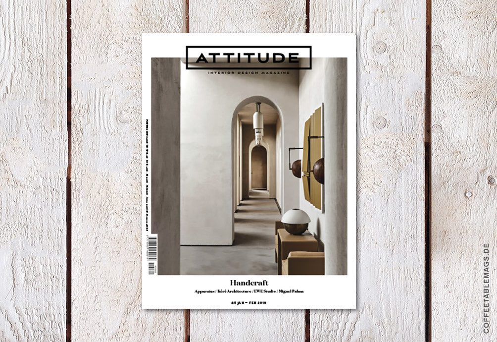 Coffee Table Mags // Independent Magazines // Attitude Interior Design Magazine – Number 85: Handcraft – Cover
