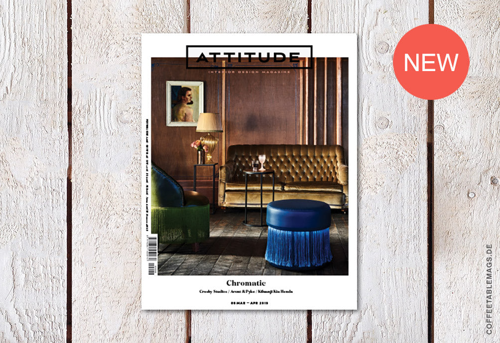 Coffee Table Mags // Independent Magazines // Attitude Interior Design Magazine – Number 86: Chromatic – Cover