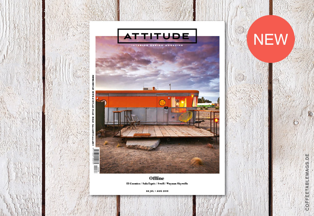 Attitude Interior Design Magazine – Number 88: Offline – Cover