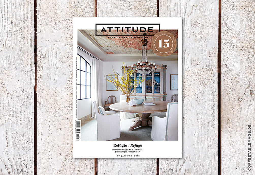 Attitude Magazine – Number 79: Refuge – Cover