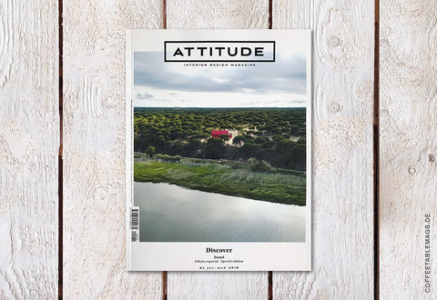 Attitude Interior Design Magazine – Number 82: Discover (Israel, Special Edition) (Deficiencies copy)
