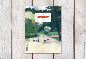 August Journal – Issue 06: Tokyo – Cover