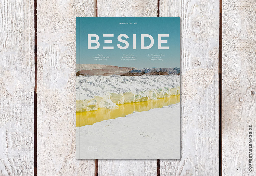 Beside Magazine – Issue 5: What does our future with nature hold? – Cover