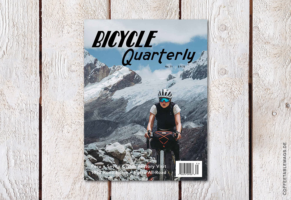 Bicycle Quarterly – Number 71: Spring 2020 – Cover