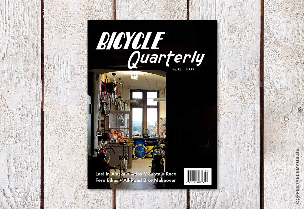 Bicycle Quarterly – Number 72: Summer 2020 – Cover