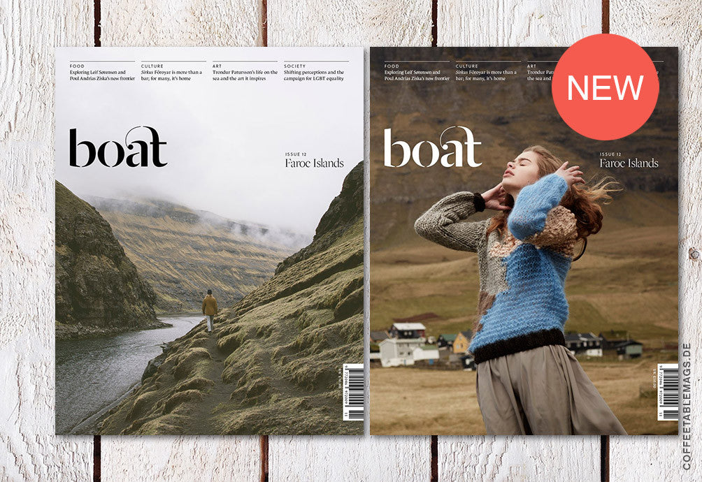Boat Magazine – Issue 12: Faroe Islands – Cover