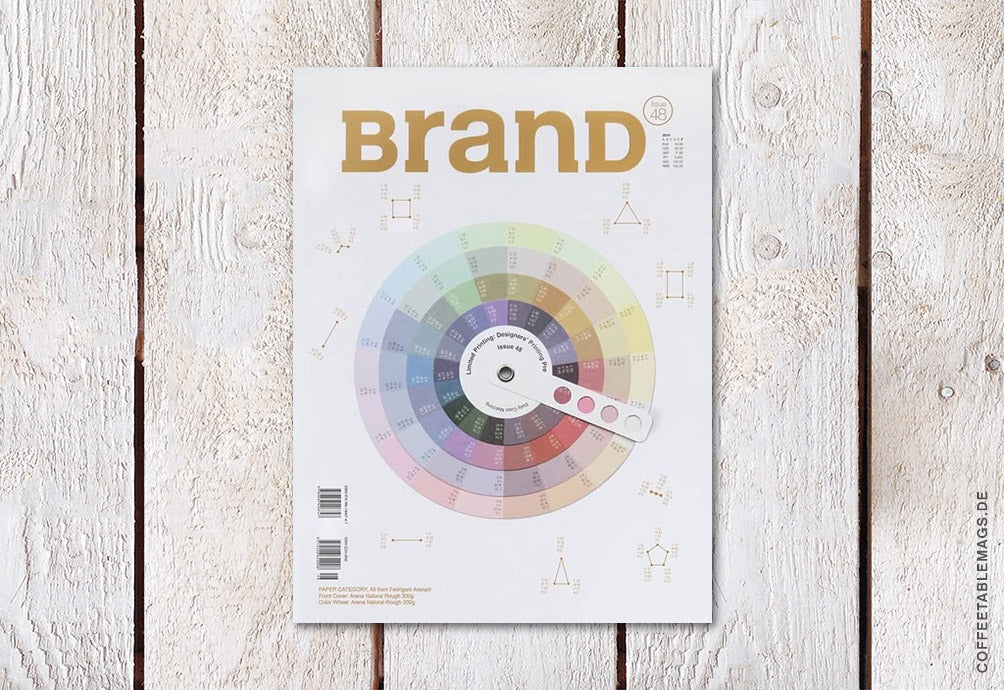 BranD Magazine – Issue 48: Limited Printing – Cover: White