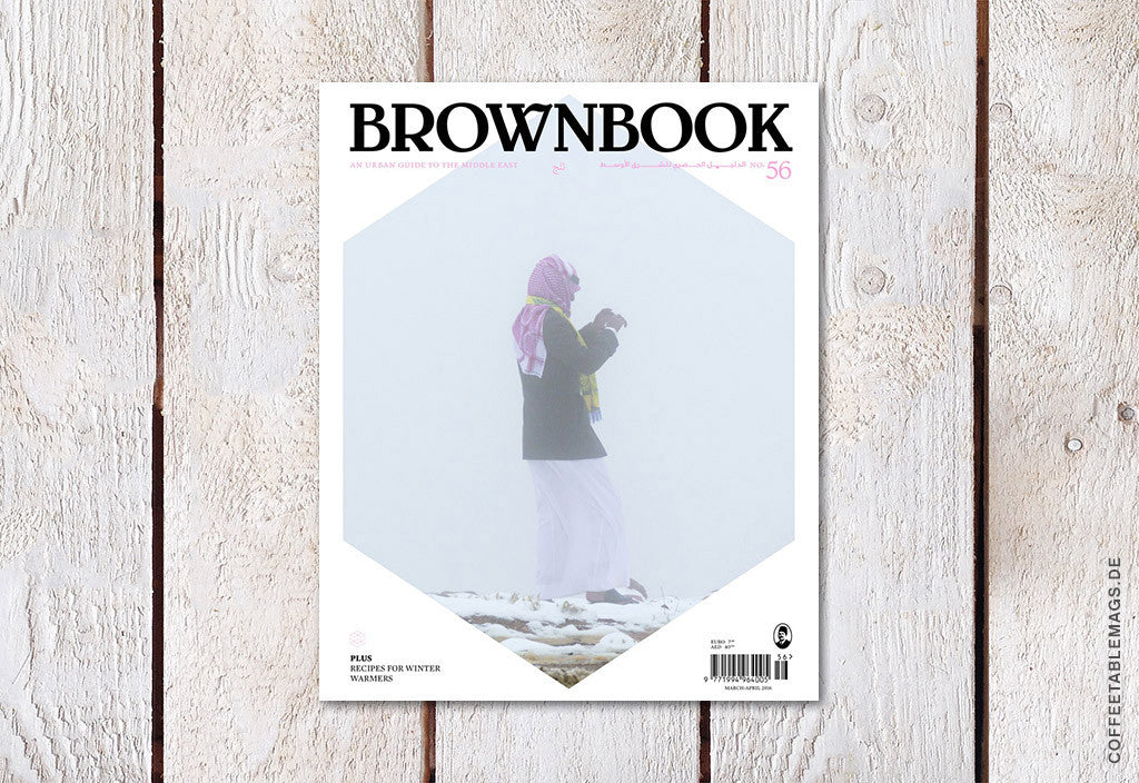 Brownbook – Issue 56 (The Snow Issue) – Cover