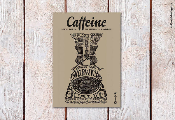 Caffeine – Volume 16 – Cover