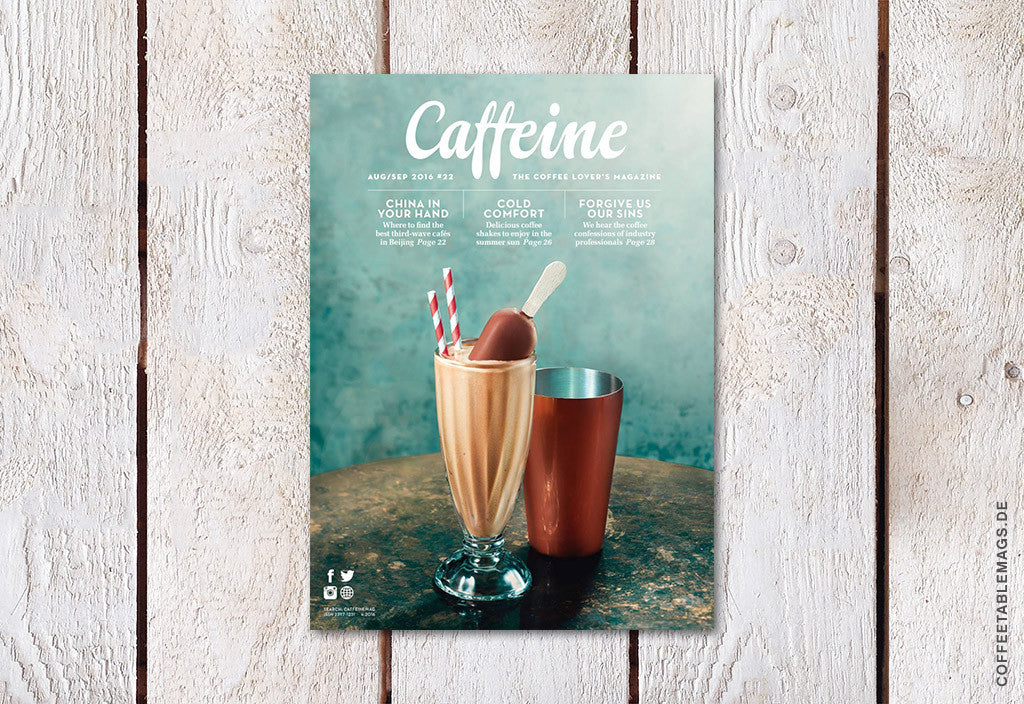 Caffeine – Volume 22 – Cover