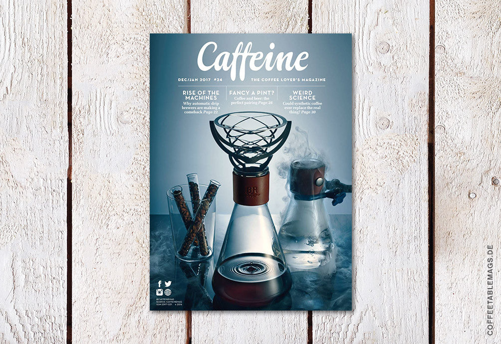 Caffeine – Volume 24 – Cover
